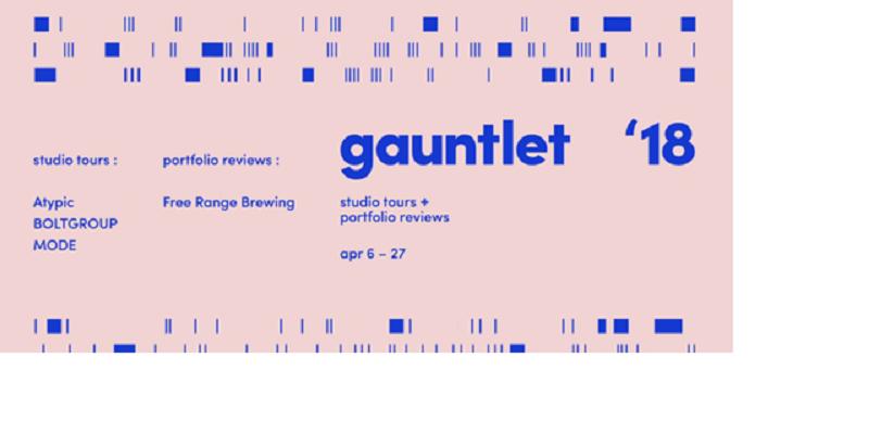 AIGA: The Gauntlet: Studio Tour & Portfolio Review 2018 - Marketing Talent  Inc